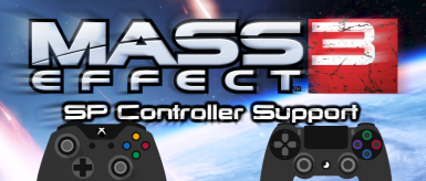 SinglePlayer Native Controller Support Mod at Mass Effect 3
