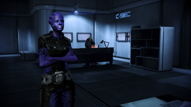Accurate C-Sec uniforms_asari female