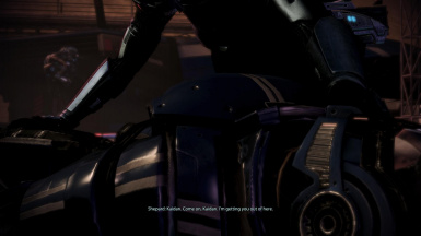 Restored dialogue for FemShep with Kaidan