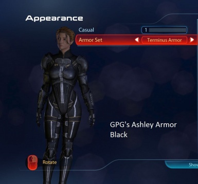 Ashley Armor black