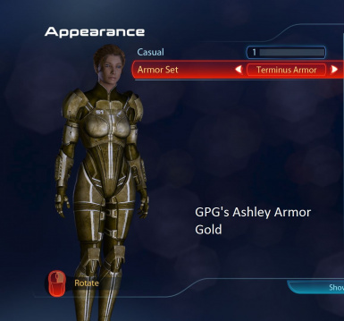 Ashley Armor Gold