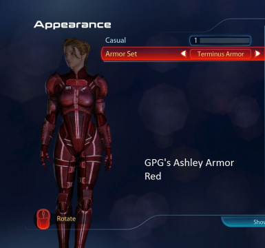 Ashley Armor Red