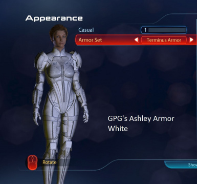 Ashley Armor White