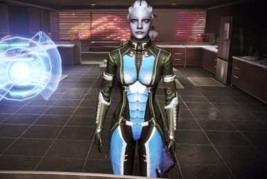 Liara CE Armour Recolour   CitApt  2