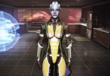 Liara CE Armour Recolour   CitApt  3