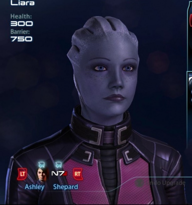 Liara Squad Select