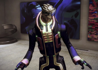 Garrus Formal wear