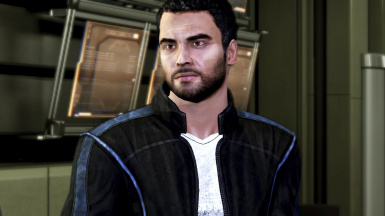 Scruffy Kaidan in Leather (Thank you)