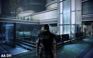MassEffect3 AntiAliasing Off