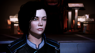 Taylor Shepard - FemShep Head Morph and Face Code
