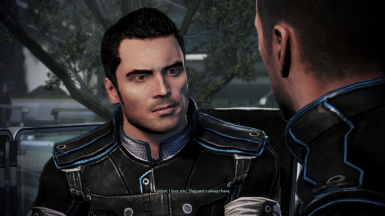 Kaidan remembers relationship with MaleShep