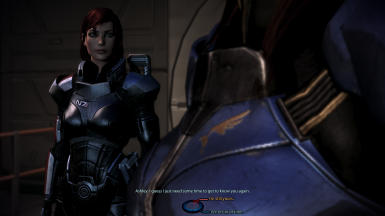 FemShep/Ashley romance dialogue on Mars
