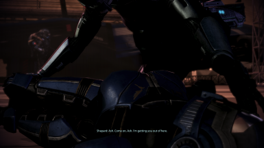 Restored FemShep/Ashley romance line on Mars