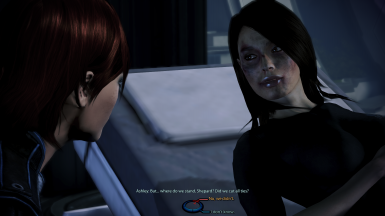 FemShep and Ashley talk about their relationship