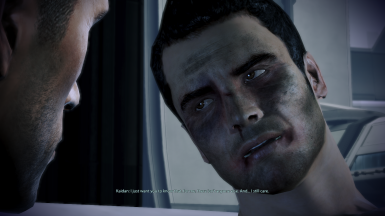 Kaidan acknowledges MaleShep/Thane romance