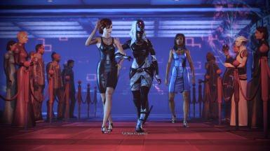 FemShep/Tali casino entrance in Citadel DLC