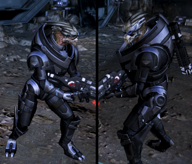 BlackOps Retexture For Garrus' Default Armor