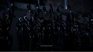 Part of Garrus' new intro