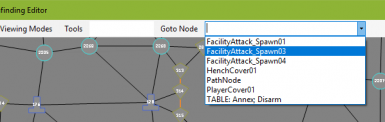 Finding a node by a tag in Pathfinding Editor