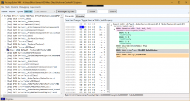 Interpreter WPF contains lots of enhancements to improve modding properties