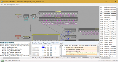 Sequence Editor WPF