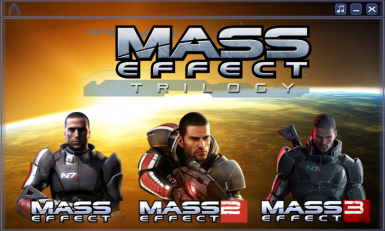 Mass Effect Trilogy Launcher