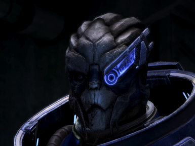 HD Garrus Face Texture