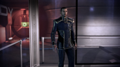 Shepard Officer Uniform Gold Stripe