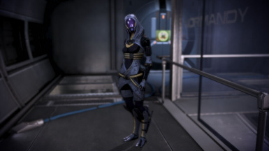 Tali ME2 Loyalty Outfit for ME3