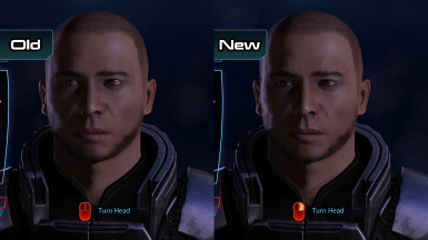 Facial Hair HD (ME3)