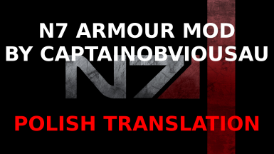 N7 Armour Mod - Polish translation