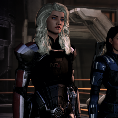 Neutral N7 Armors - Flat Chestplates for Femshep