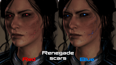 Renegade color with enhanced wrinkles