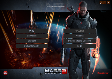 Mass Effect 3 Launcher