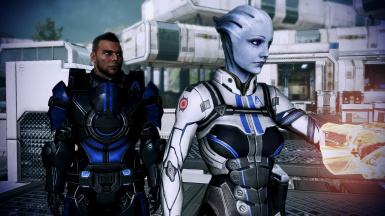 HR Liara Alternate From Ashes Armor