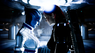 PARAGON Anna LIARA ROMANCE For Mass Effect 3