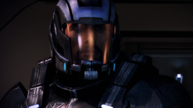 Helmet Patches applied with PV helmet that usually would hide hair.