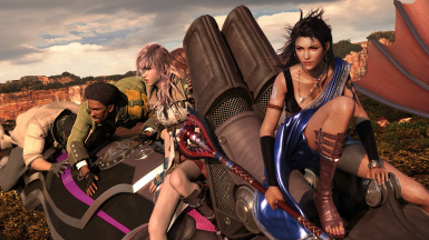 FF XIII HD Full Motion Video