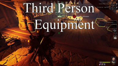 Third Person Equipment
