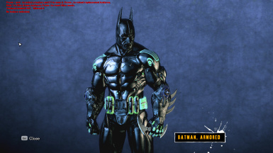 Batman - Back In Black (HD BATSUIT AND BATDEMON)