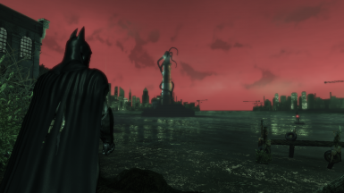 Batman Beyond Sky for Arkham Asylum