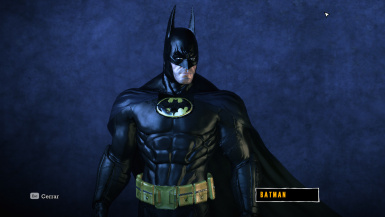 BATMAN 1989 Suit
