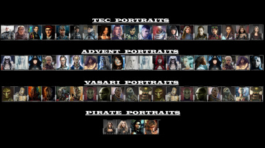 CUSTOM PLAYER PORTRAITS