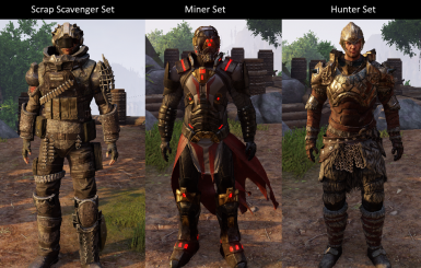Factonless Faction Armor Replacer