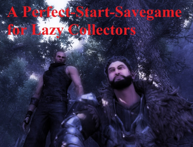 A Perfect-Start-Savegame for Lazy Collectors