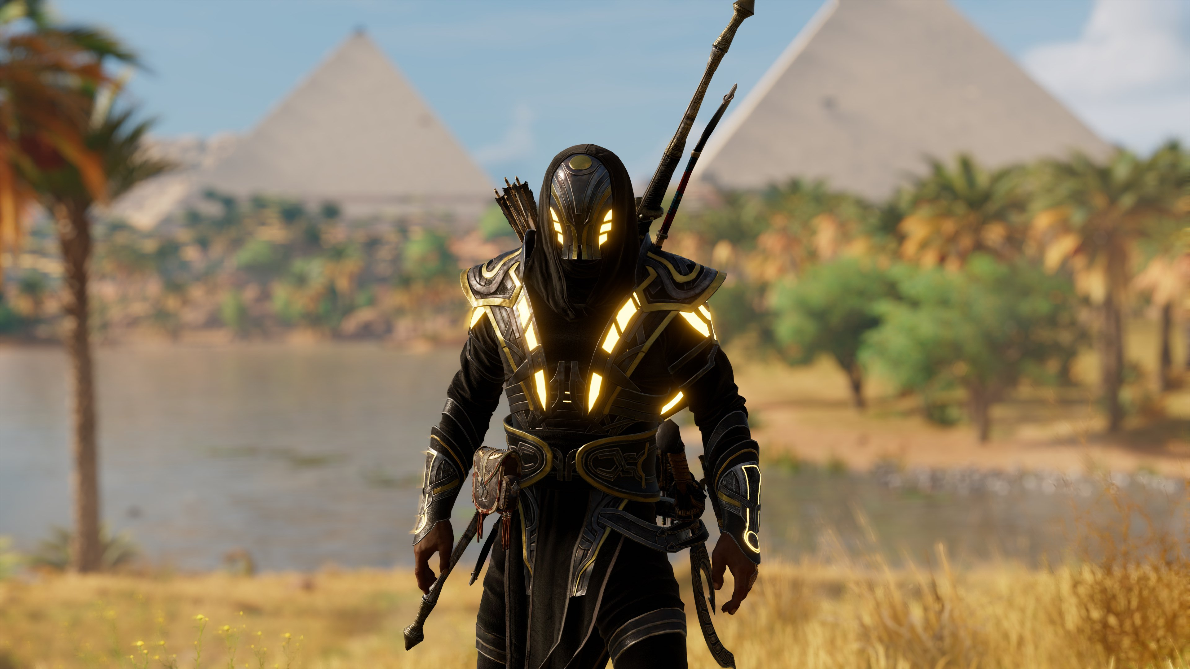 Black Gold Isu Armor At Assassin S Creed Origins Nexus Mods And