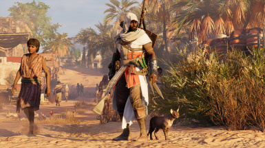 Assassin Hedj Outfit