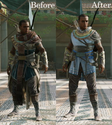 Egyptian Wahid Outfit Replacer