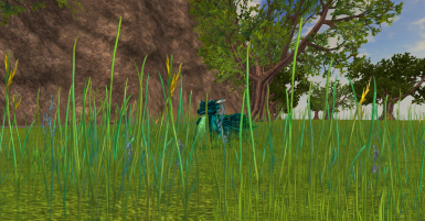 Original Tall Grass Clutter