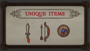 TT1 Unique Items
